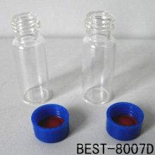 2 ml GC-Durchstechflasche, klare GC-Durchstechflasche, GC-Durchstechflasche für das Labor