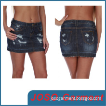 Sexy Denim Mini Skirts (JC2039)