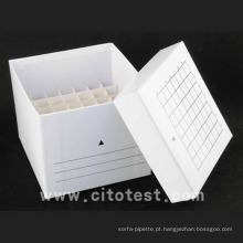 Caixa de tubo de papel de armazenamento