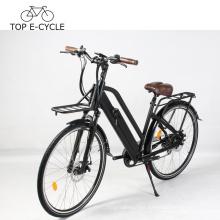 Livelytrip Bicicleta Eléctrica Estilo Vintage Bicicleta Eléctrica Eléctrica E Bicicleta 700C 48V Bicicleta Eléctrica Para Mujeres Hechas en China