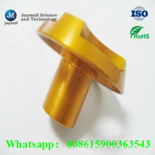 Custom Aluminium Die Casting Anodisation Golden Nut
