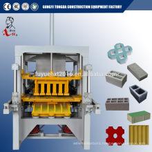 machine for fly ash block hot sale in Iraq paving brick making machine