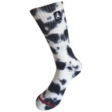 Demi-coussin Coton Fashion Logo Sport Tie Dye Socks (JMCC10)