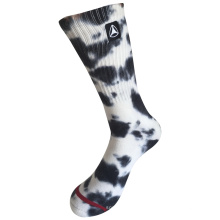 Половина подушки Хлопок Мода логотипа Спорт галстук красителя носки (JMCC10)