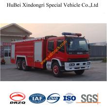 11.65 тонны пены пожарных автомобиля Исузу Евро3