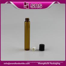 SRS recipiente de vidro amostras grátis 10ml vidro rolo sobre garrafa