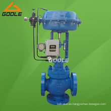 Válvula reguladora de flujo tipo mezcla neumática de 3 vías (ZMAQ)