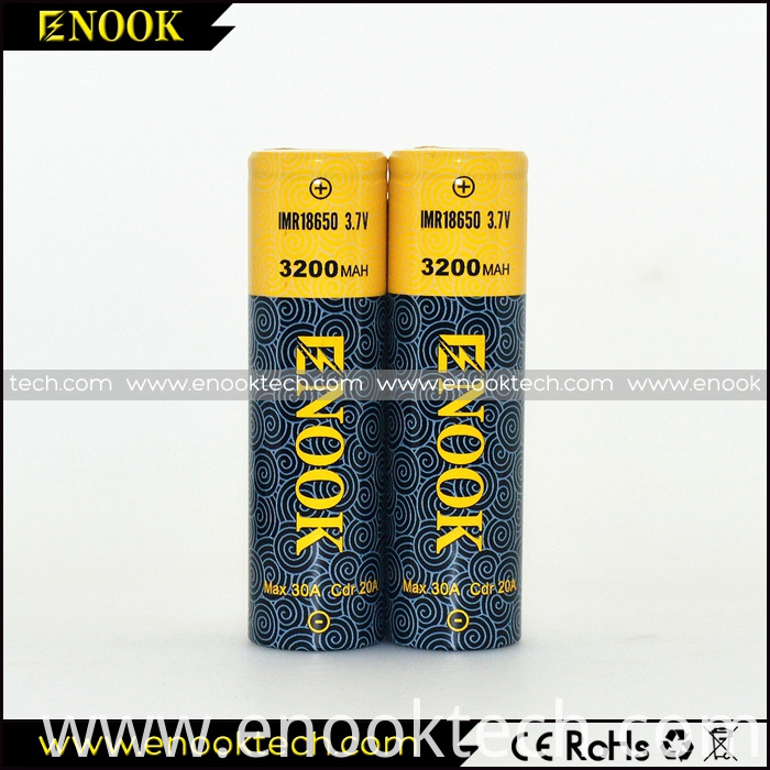 New Type ENOOK 3200mah 20A 1860 Mod Battery