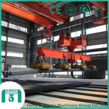 Pont roulant avec aimant pour crochet principal capacité 16 tonnes - 32 tonnes