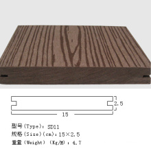 Solid WPC Decking, WPC Deck, Composite Decking