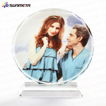 sublimation crystal photo frame birthday gift BSJ-03A
