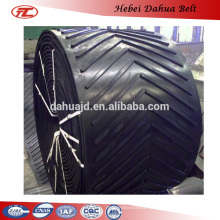 DHT-153 cheap price v conveyor belt for conveying packaged
