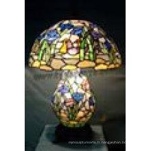 Décoration intérieure Tiffany lampe Lampe de table T16550A