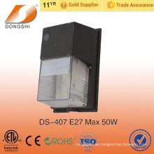 Muere el paquete de la pared del aluminio 30w de la fundición llevado con la cubierta de la PC para al aire libre