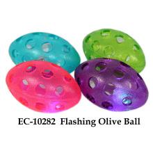 Brinquedo de bola de oliveira piscante