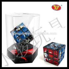 YongJun promocional cubo rompecabezas mágico de 3 capas Cubo educativo personalizado para promociones