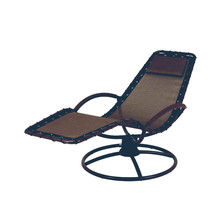 10 Years manufacturer for Outdoor Sun Loungers steel textilene swivel chair supply to Nauru Suppliers