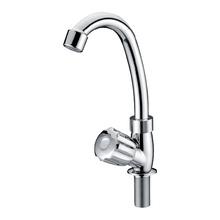 Chrome Long Neck Bathroom Kitchen Tap Faucet