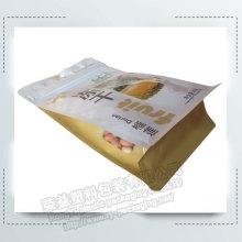 White Kraft Paper Gusset Food Packaging Bags