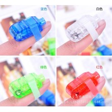 Flashing LED finger light for party