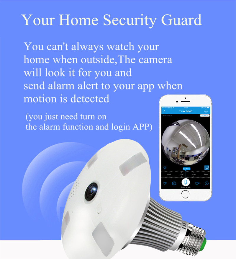 Bulb Security Camera