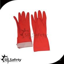 Хлопковый лайнер SRSAFETY, покрывающий латексные перчатки, чистящие перчатки, изготовленные в Китае
