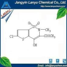 6 - Cloro - 4 - hidroxi - 3 - metoxicarbonil - 2 - N - metil - tieno [3.2 - e] tiazina - 1,1 - dióxido C9H8ClNO5S2