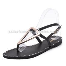 Neue Modell flache Sandalen für Frauen preiswerteste Art und Weisedamen Sandelholze