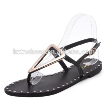 New model flat sandals for women cheapest fashion ladies sandals