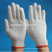 The big supply capacity of the cotton knitted gloves factory