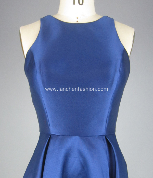 Navy Blue Cocktail Dresses Ball Gown Wholesale