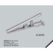 Aluminum type earth clamp JL300A