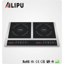 2 Burners Induction Cooktop
