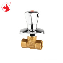Chromed polished Brass triangle valve price