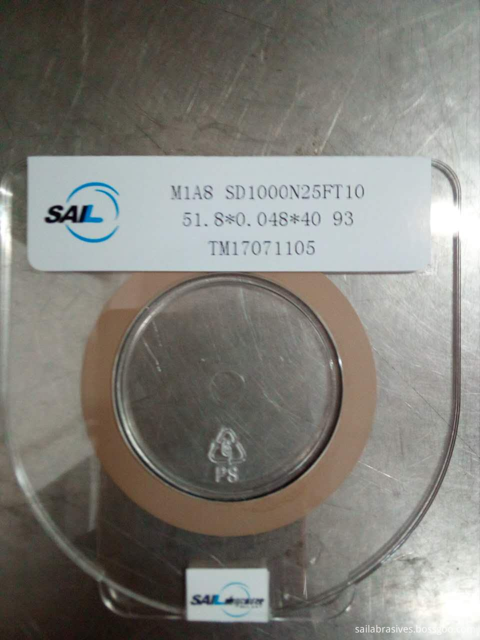 Metal Bond Diamond Superthin Cutting Wheel For Cutting Wafer