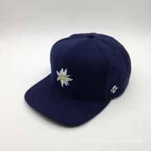 Style de fleur et chapeau de modèle de mode hiver de 5 panneaux (ACEK0090)