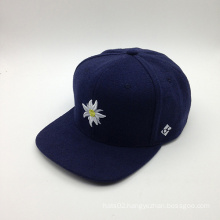 Flower Style and 5-Panel Hat Winter Fashion Style Cap (ACEK0090)
