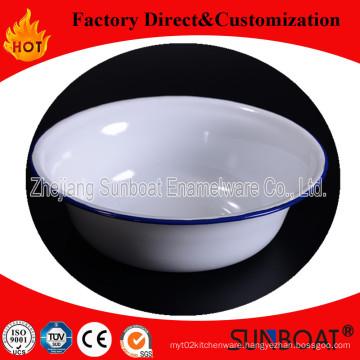 Sunboat Enamel Deep Bowl Cookware Kitchen Appliance