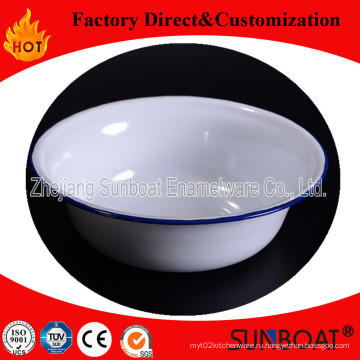 Sunboat Эмалированную Глубокую Миску Посуда Кухонный Прибор