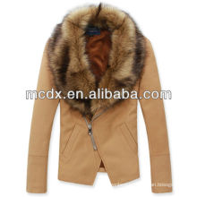2015 real fur hairy man jacket