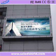 Placa de exposição do diodo emissor de luz da montagem SMD da parede P10 para anunciar