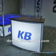 moderne billige Rezeption Möbel kreisförmige Rezeption Schreibtisch modernes Design Rezeption