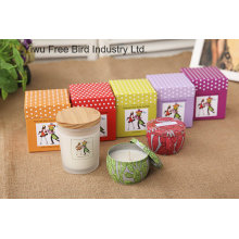 Hotsale Soy Candles in Glass Jar with Various Scents