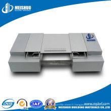 Joint d'aluminium extrudé en béton concassé