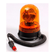 55W Halogen Forklift Heavy Duty Vehicles Agriculture Machines Truck Tractor Amber Halogen Rotating Flashing Beacon