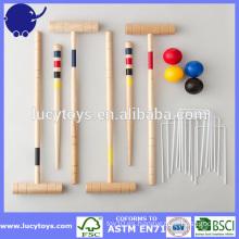 Personalizar 4 Jugador Croquet Set Clásico