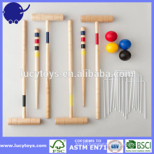 customize 4 Player Classic Croquet Set