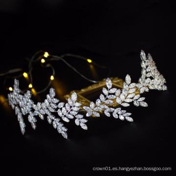Los fabricantes estadounidenses de bandas para el cabello de la boda venden al por mayor la corona nupcial del tocado