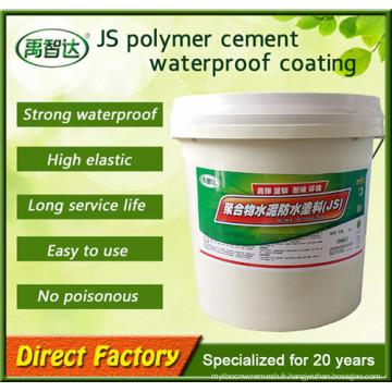 Revêtement imperméable composé de Js de ciment de résistance aux intempéries de vente chaude dans le bas prix