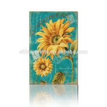 2015 Lastest Sonnenblume-Malerei auf Segeltuch für Wohnzimmer für Feiertags-Geschenk-Großverkauf